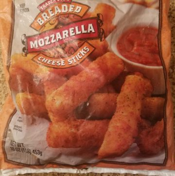 Trader Joe's Mozzarella Sticks