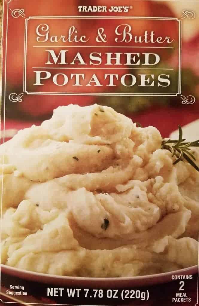 Trader Joe's Garlic and Butter Mashed Potatoes