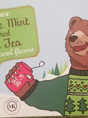 Trader Joe's Chocolate Mint Flavored Black Tea
