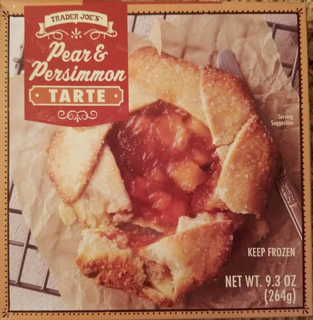 Trader Joes Pear and Persimmon Tarte