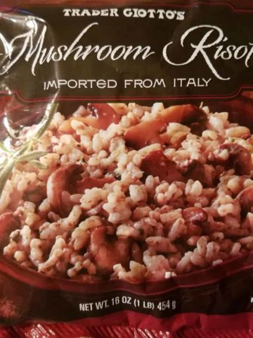 Trader Joes Mushroom Risotto