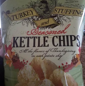 Trader Joe's Turkey Stuffing and Seasoned Kettle Chips