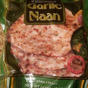 Trader Joe's Garlic Naan