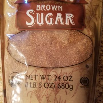 Trader Joe's Organic Light Brown Sugar (and cookie recipe too)