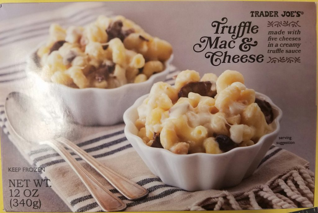 Trader Joe's Truffle Mac and Cheese
