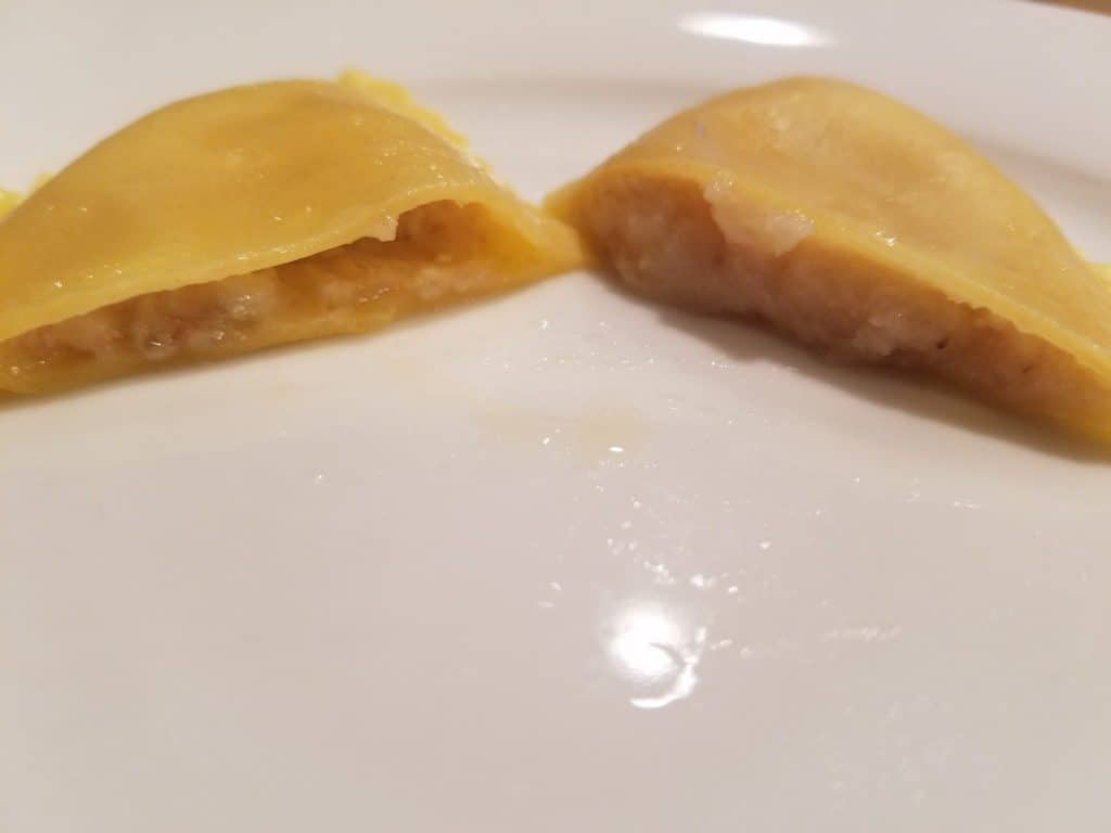 Trader Joe's Roasted Cauliflower Cheese Mezzelune