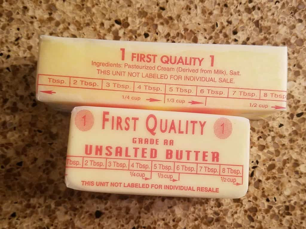 Trader Joe's Unsalted Butter
