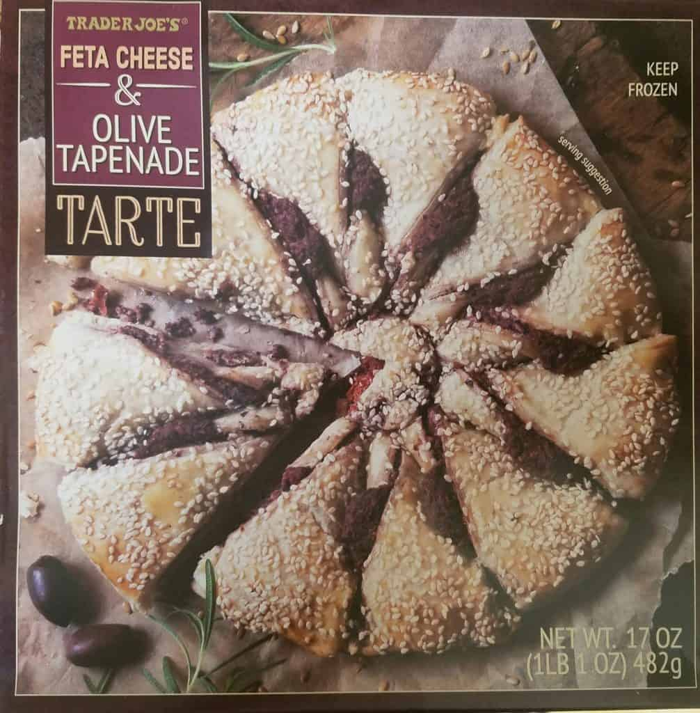 Trader Joes Feta Cheese and Olive Tapenade Tarte