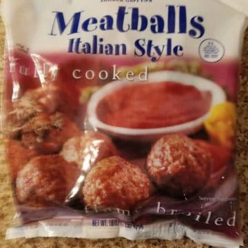 Trader Joes Meatballs Italian Style