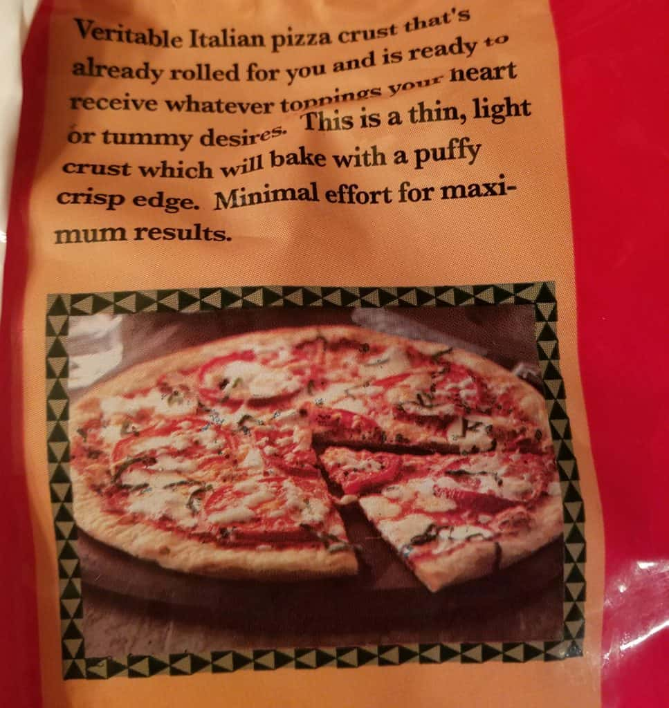 Trader Joes Organic Frozen Pizza Crusts