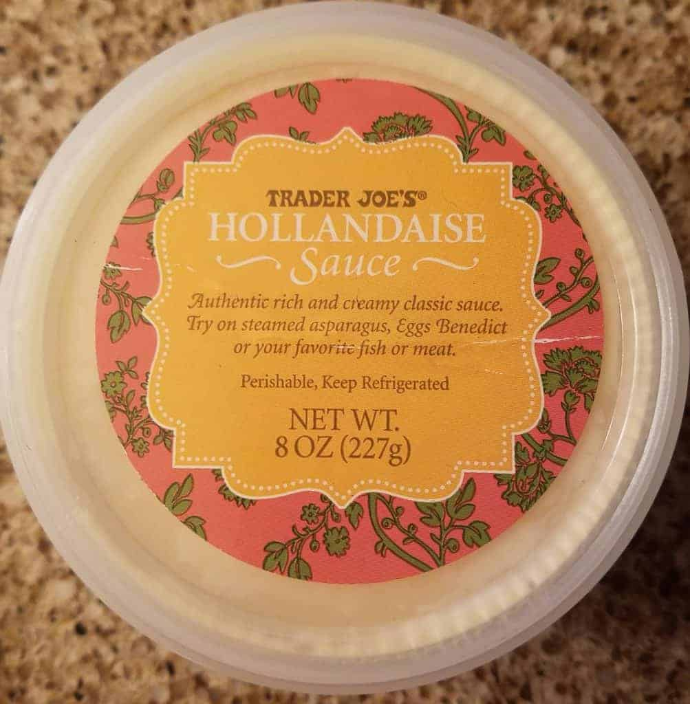 Trader Joe's Hollandaise Sauce