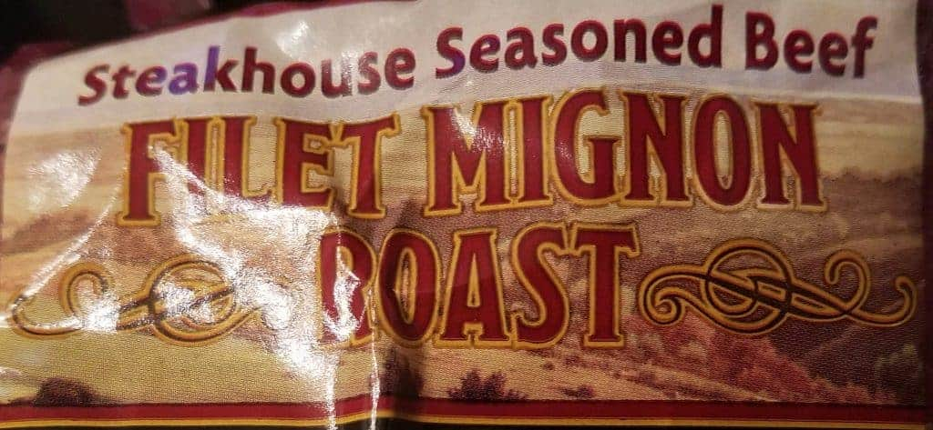 Trader Joe's Steakhouse Seasoned Filet Mignon