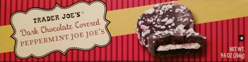 Trader Joe's Dark Chocolate Covered Peppermint Joe Joe's