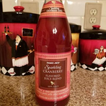 Trader Joe's Sparking Cranberry Flavored Juice Blend