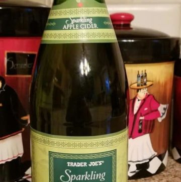 Trader Joe's Sparkling Apple Cider