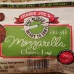 Trader Joe's Pre-Sliced Mozzarella package