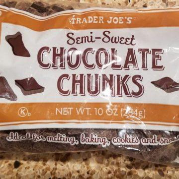 Trader Joe's Semi Sweet Chocolate Chunks