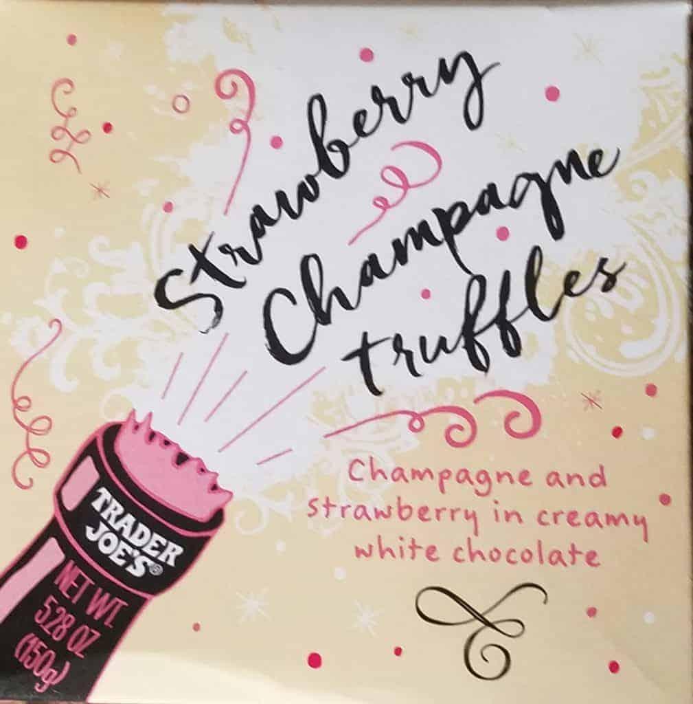 Trader Joe's Strawberry Champagne Truffles