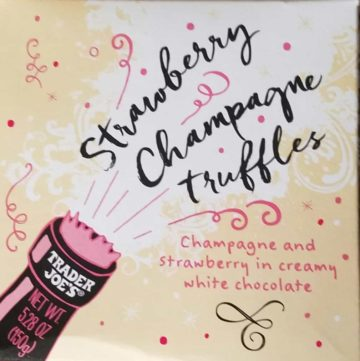 Trader Joe's Strawberry Champagne Truffles