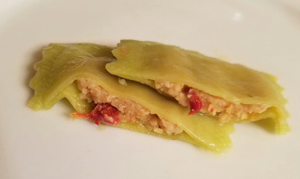 Trader Joe's Goat Cheese and Sundried Tomato Ravioli