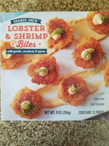 Trader Joe's Lobster and Shrimp Bites