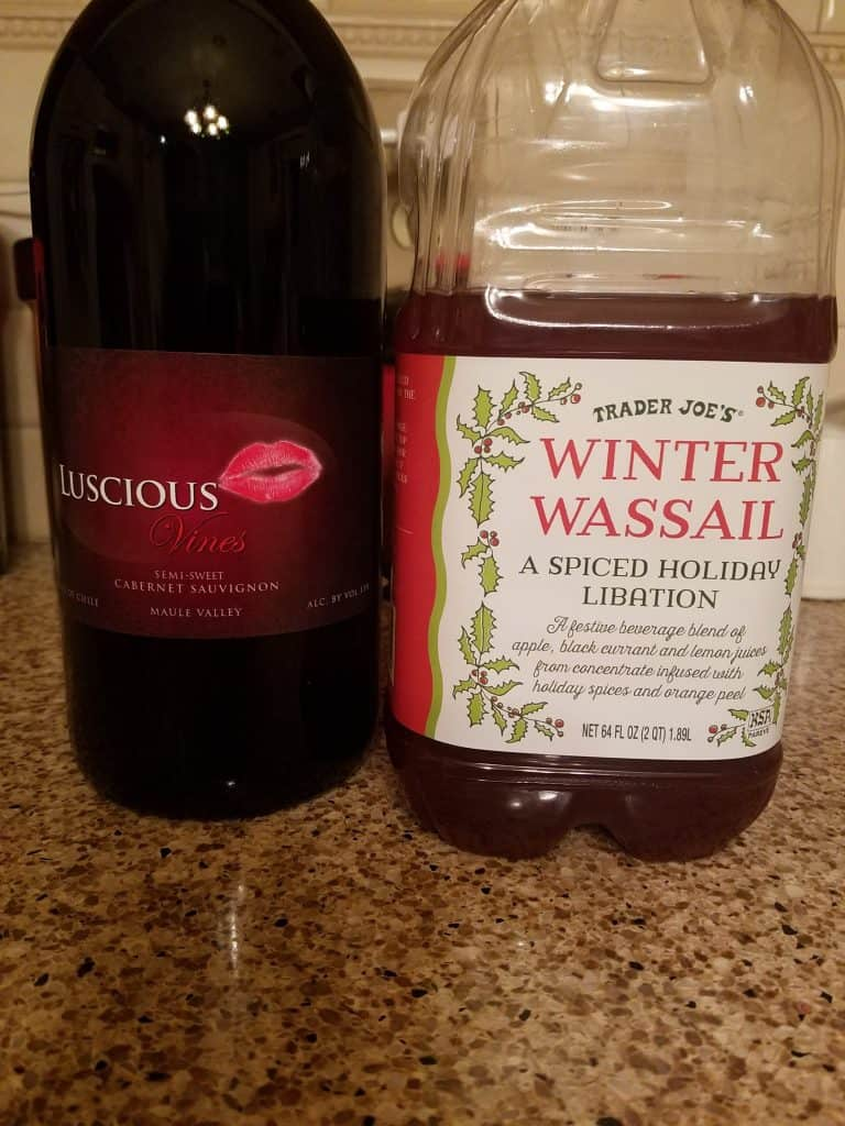 Winter Wassail Mulled Wine Recipe
