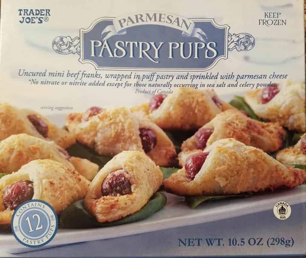 Trader Joe's Parmesan Pastry Puffs