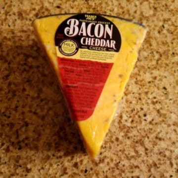 Trader Joe's Bacon Cheddar Cheese