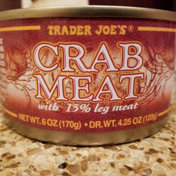 Trader Joe's Canned Crab Meat