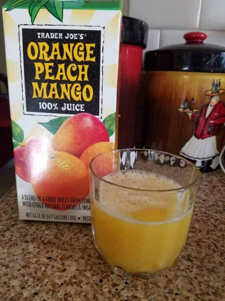 Trader Joe's Orange Peach Mango