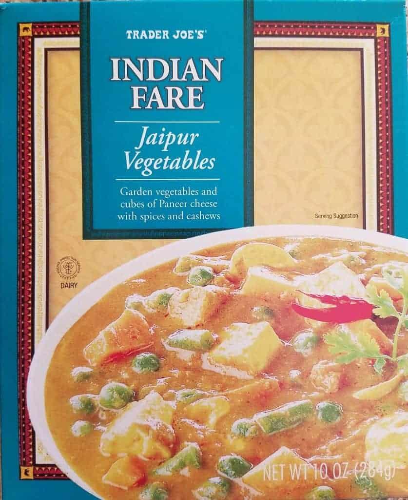 Trader Joe's Jaipur Vegetables