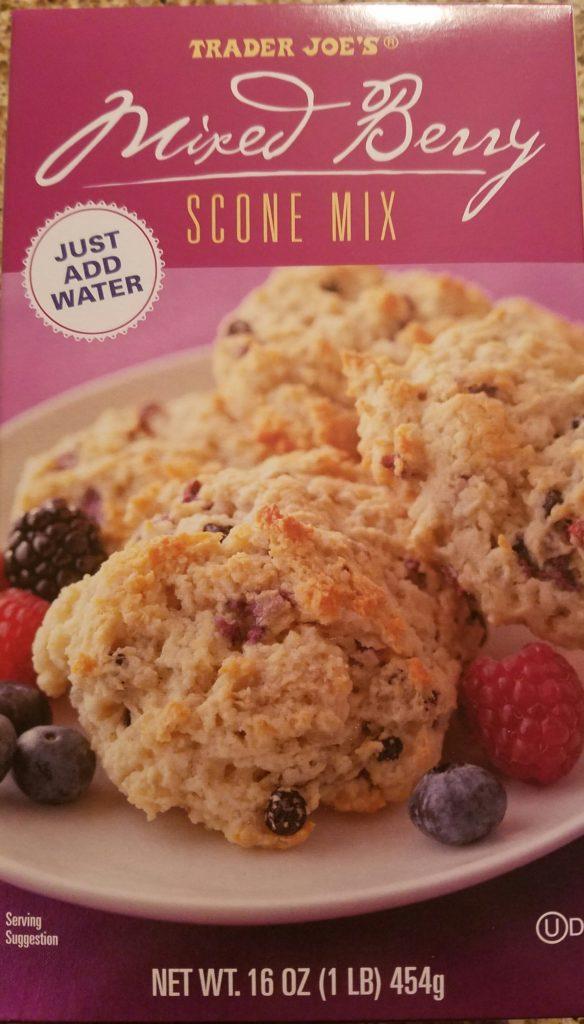 Trader Joe's Mixed Berry Scones Mix