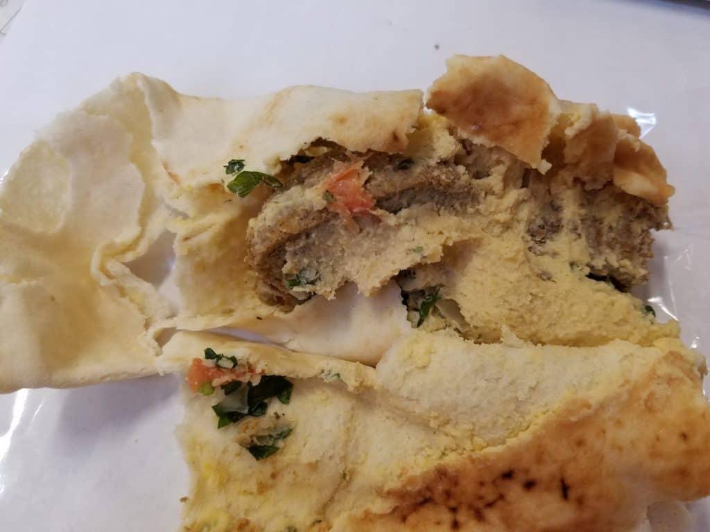 Trader Joe's Falafel Wrap