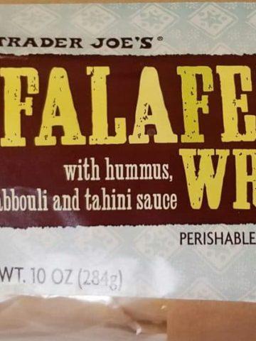 Trader Joes Falafel Wrap
