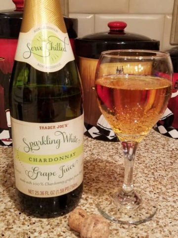 Trader Joe's Sparkling White Grape Chardonnay
