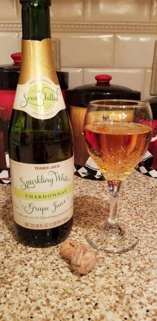 Trader Joe's Sparkling White Grape Juice Chardonnay