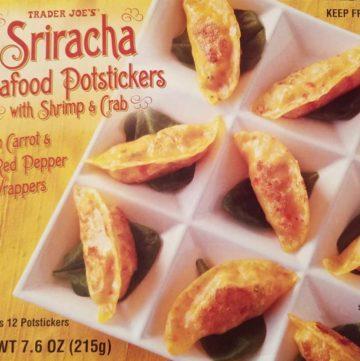 Trader Joes Sriracha Seafood Potstickers