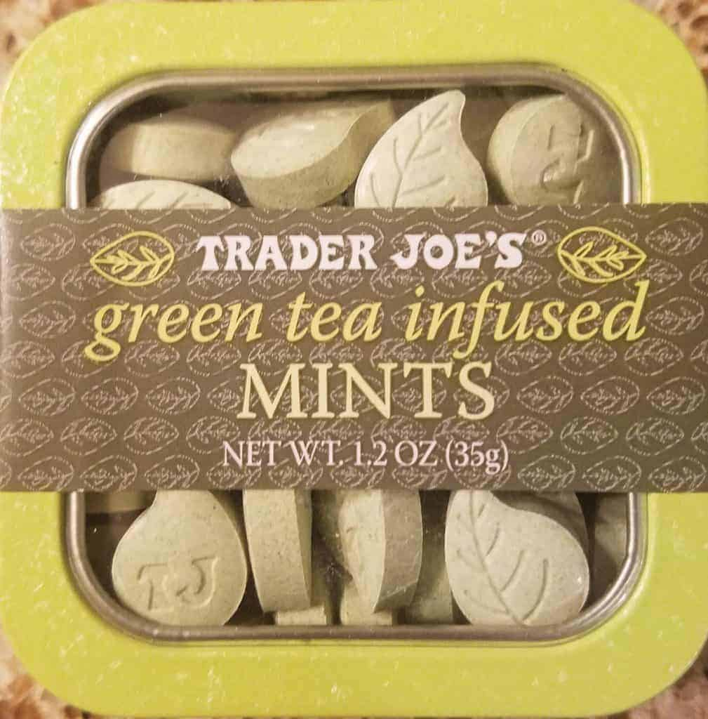Trader Joes Green Tea Infused Mints