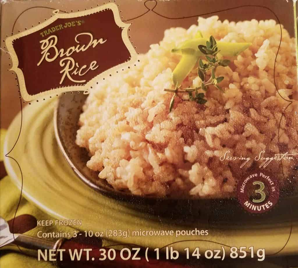 Trader Joes Frozen Brown Rice