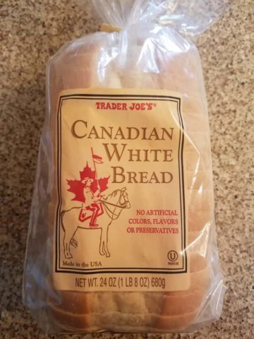 Trader Joe's Canadian White Bread