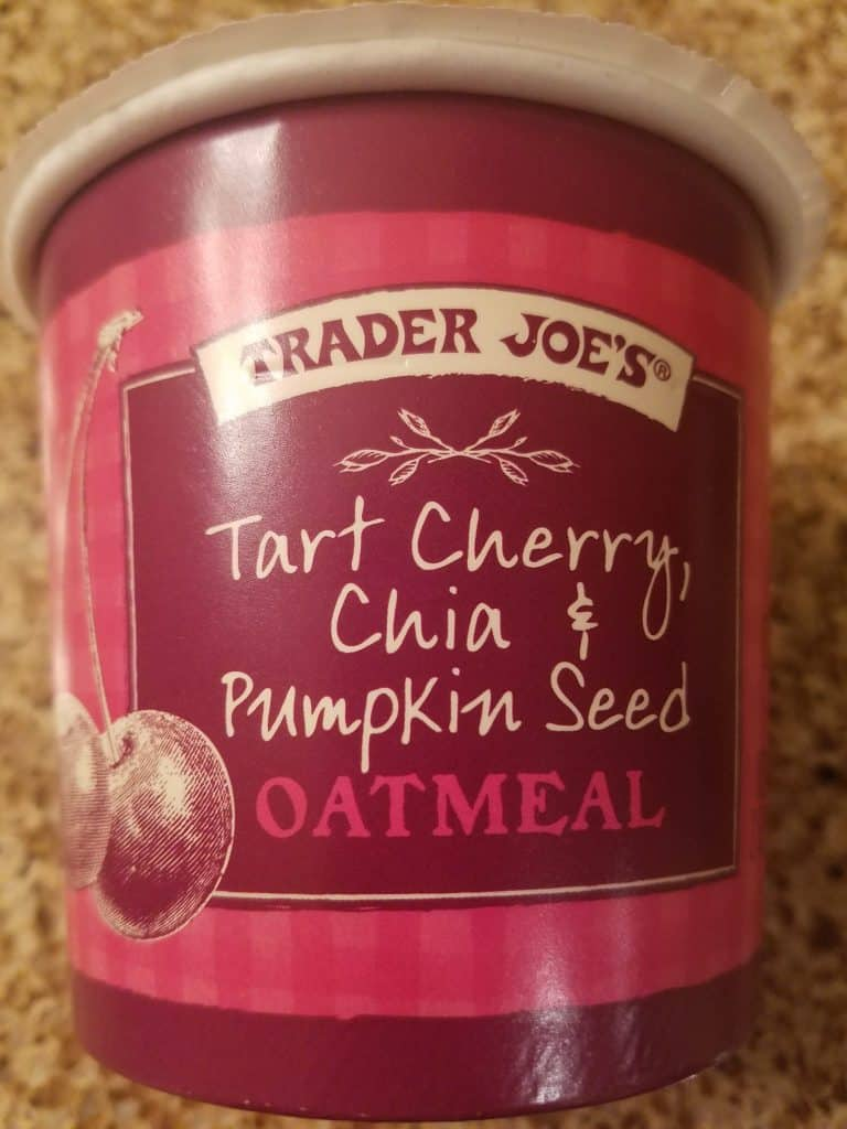 Trader Joe's Tart Cherry, Chia, and Pumpkin Seed Oatmeal