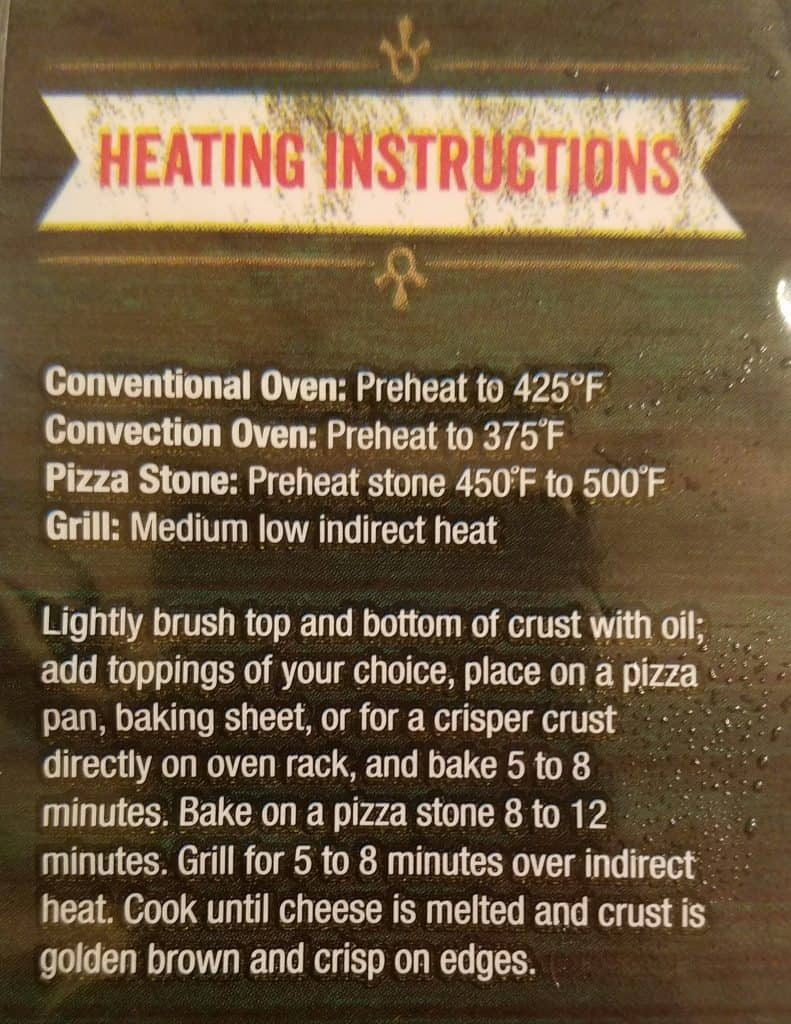 Trader Joe's Pizza Crust