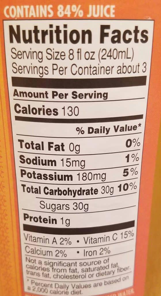 Trader Joe's Sparkling Clementine Flavored Juice
