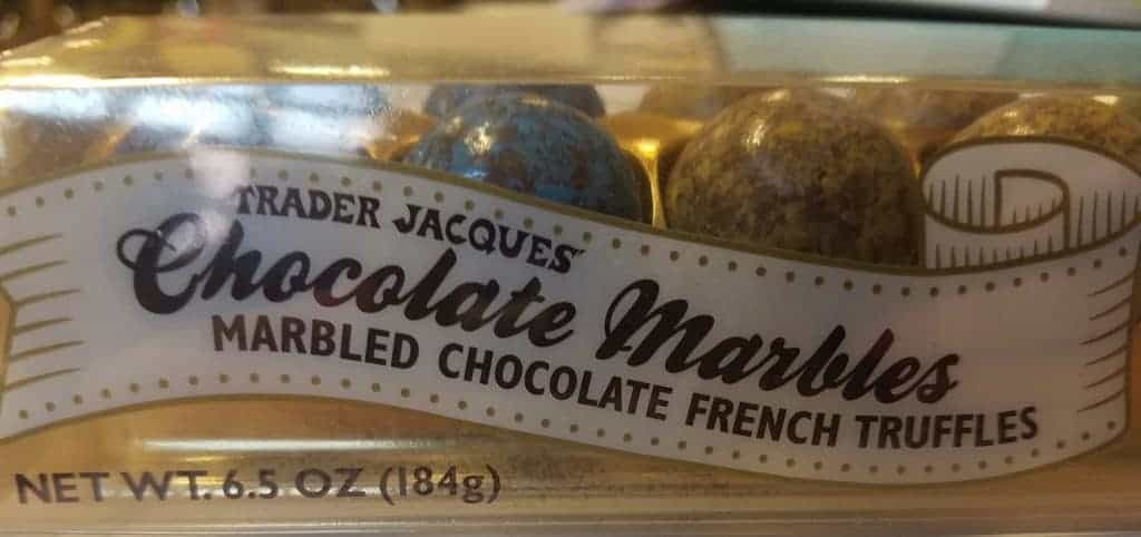 Trader Joes Chocolate Marbles
