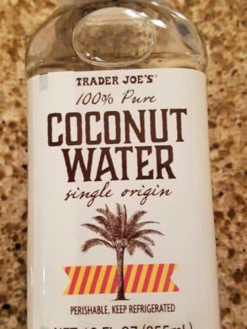 Trader Joes Single Origin Coconut Water