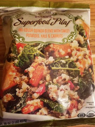 Trader Joes Organic Superfood Pilaf