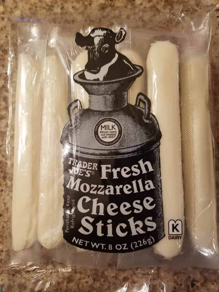 Trader Joe's Fresh Mozzarella Sitcks