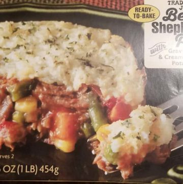 Trader Joes Beef Shepherds Pie
