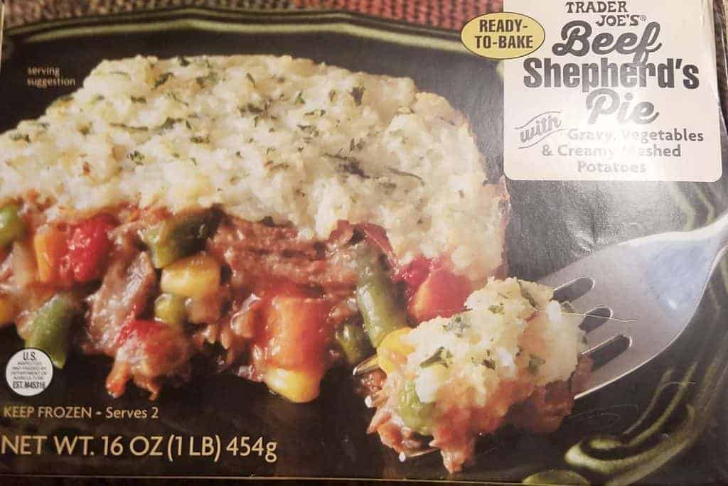 Trader Joe's Beef Shepherd's Pie