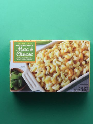 Trader Joe's Hatch Chile Mac and Cheese box
